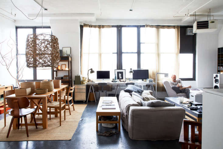 Designed by HomeStories, HomeStories Open Plan Industrial Space was chosen by editor in chief Julie Carlson, who admired &#8