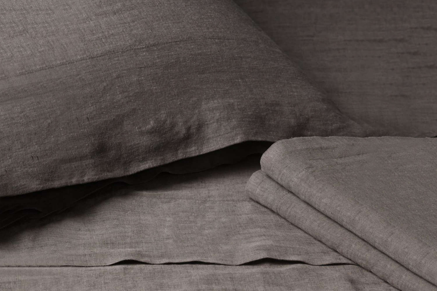 The bed sheets are Restoration Hardware&#8