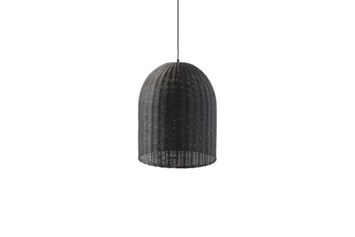 TheWicker Dome Pendant Lights are $loading=