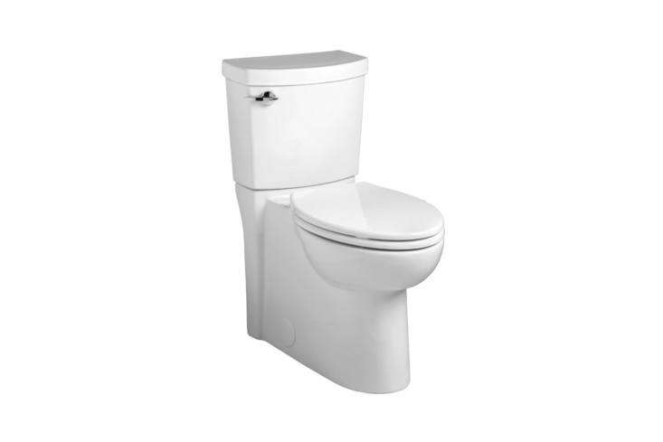 theamerican standard clean high efficiency elongated two piece toilet receive 15