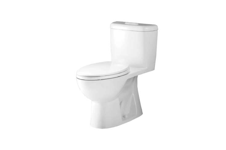 From Caroma of Australia, the Sydney Smart 305 Dual Flush Toilet is a one-piece, high-efficiency toilet that offers 0.8 and loading=