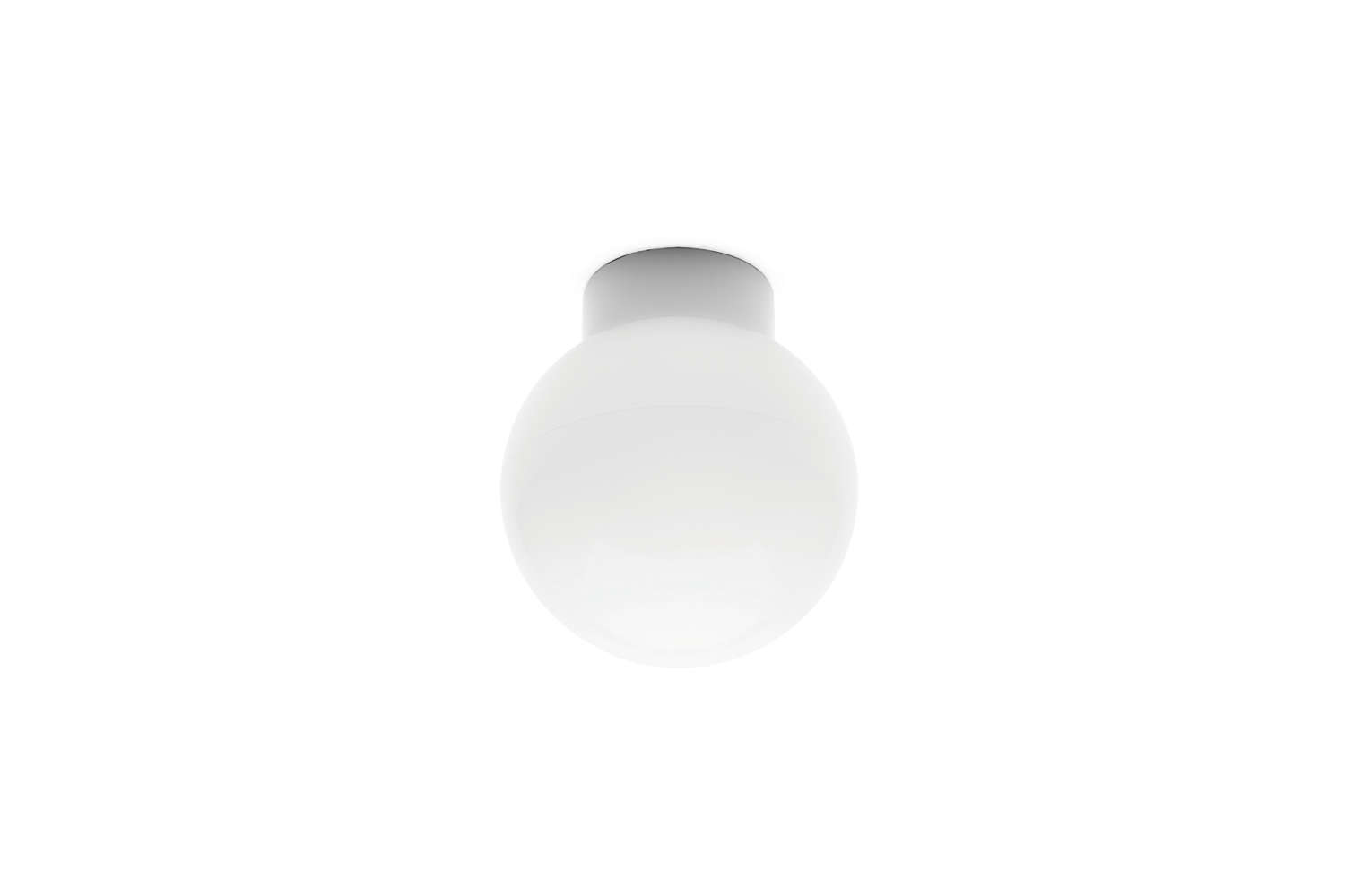 From German shop Manufactum, the Ceiling Lamp Made of Porcelain and Opaline Glass is €4loading=