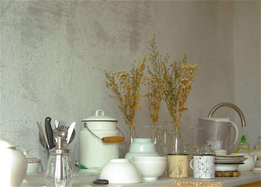 Charmingly textured walls in Paris-based designer Clarisse Demory&#8