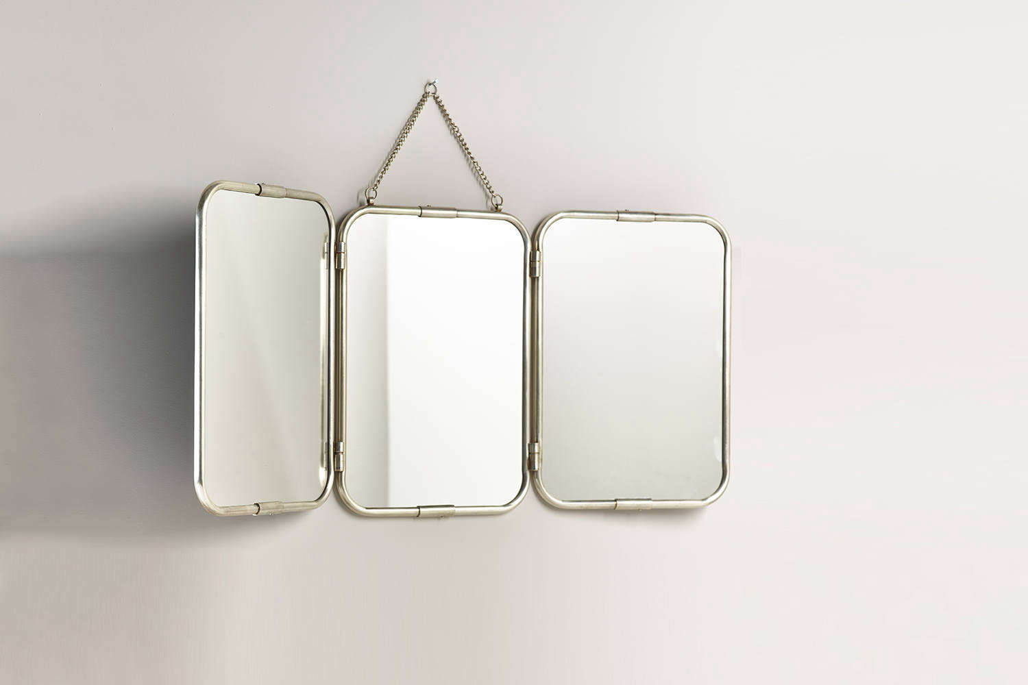 the large french triple mirror is an oversize version of the small vintage mirr 20