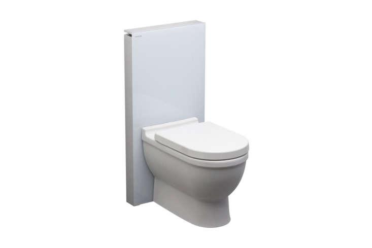 the geberit monolith toilet floor standing corrals bulky plumbing into a sleek  18