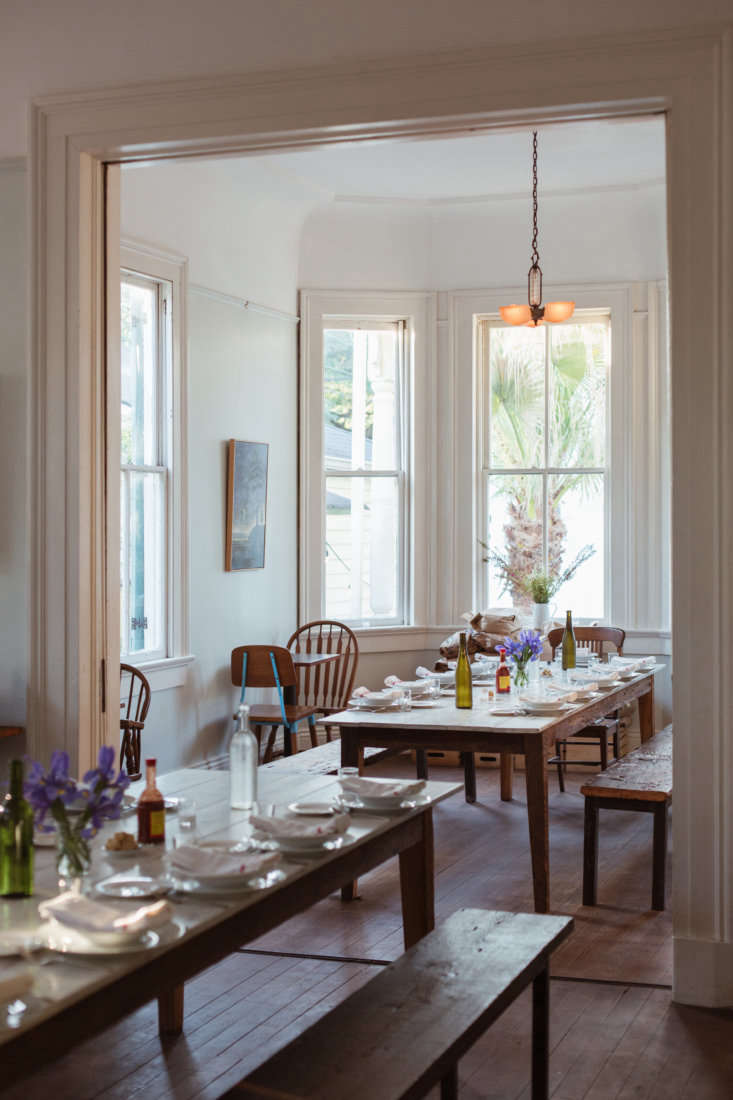 """""""At Mosquito Supper Club, we always want you to feel like you are coming into our home. I think leaving the layout of the house was key,"""" says Martin."""