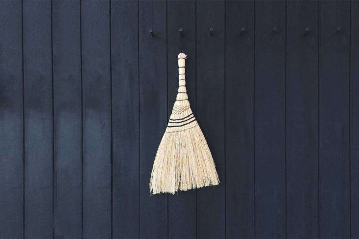 The Japanese Short Broomcorn Hand Broom is €96 from Pantoufle. For more, see Easy Pieces: Garden Shed Whisk Brooms.
