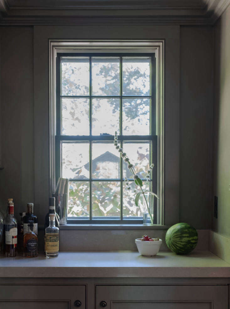 Kitchen at Helen Dealtry and Dan Barry House in Hudson, Photograph by Alison Engstrom
