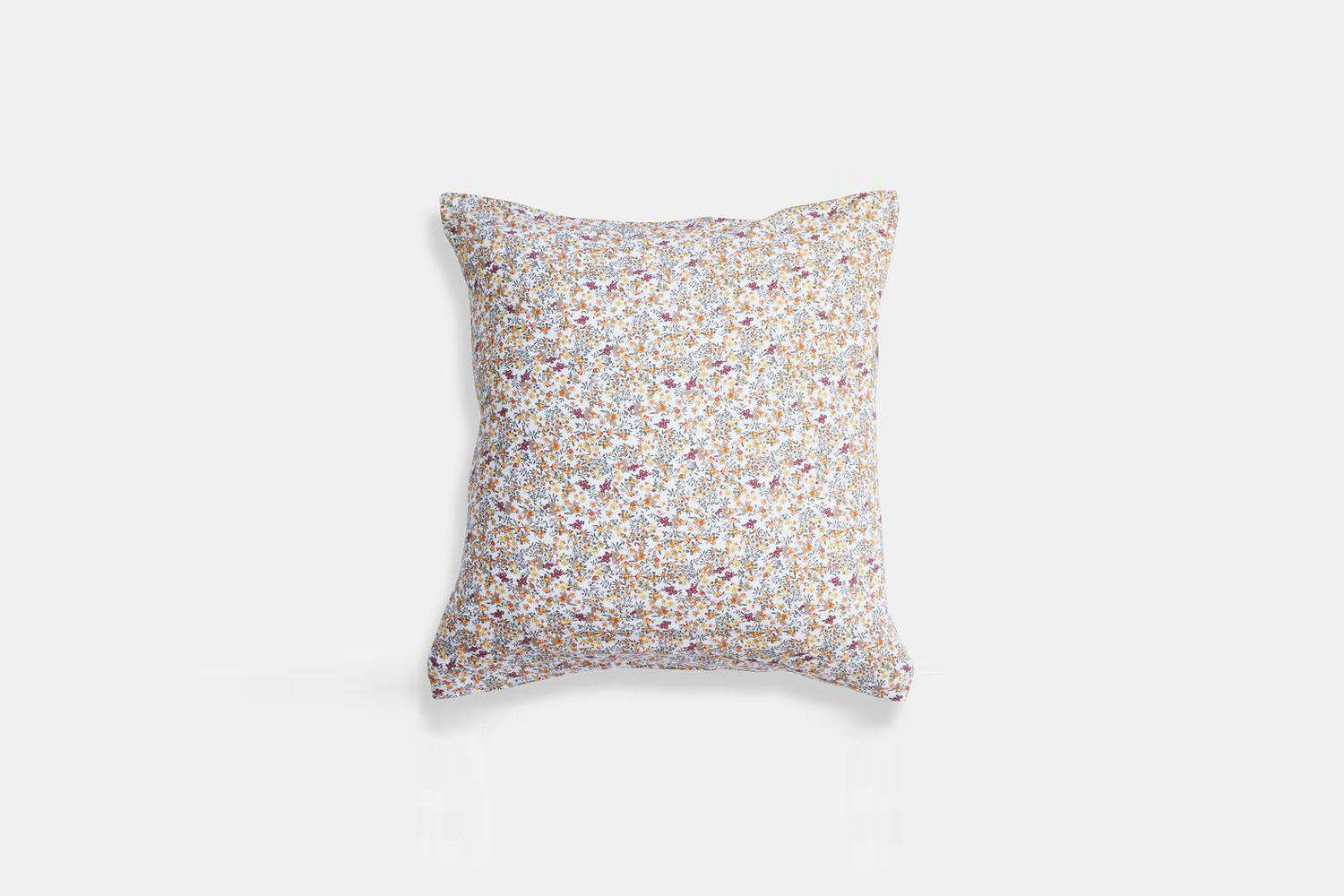 the ligne particulier curry flowers linen euro pillowcase is \$65 at collyer&am 18