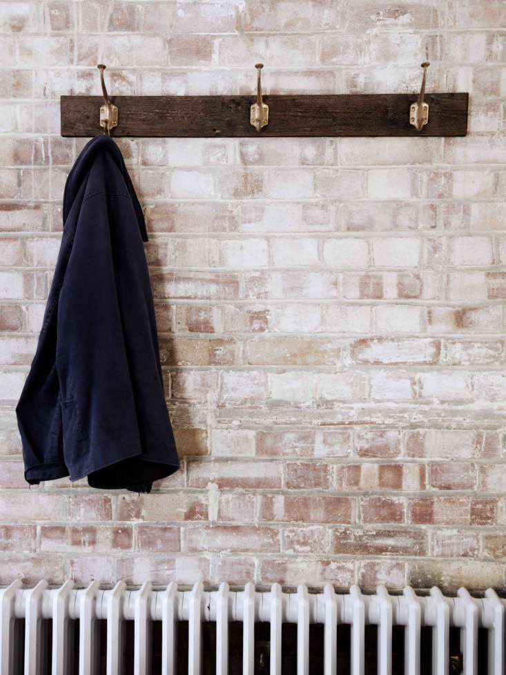 lewis created a diy coat rack using jamie hooks from his own growing line of cl 13