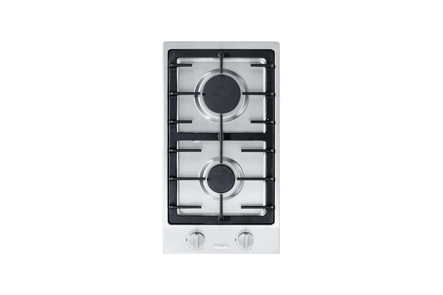 Steal This Look A Stylish Camp Kitchen in a Plywood Summer Cabin The Miele \1\2 Inch Natural Gas Double Stainless Steel Burner is \$\1,049 at ABT.