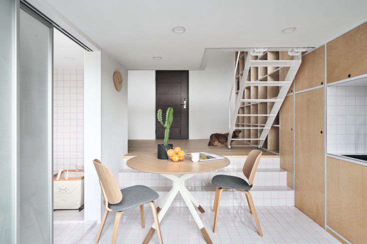 and, in taipei, taiwan, architecture firm phoebe sayswow took advantage of the  11