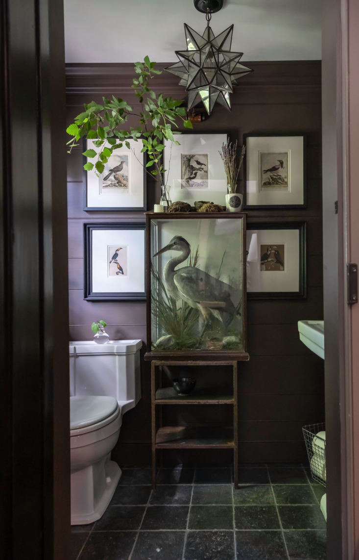 Perhaps the most unusual room is the downstairs powder room which, the couple says, they&#8
