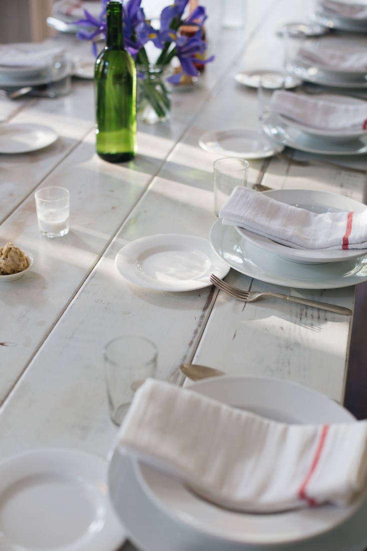 The cloth napkins are Ikea&#8