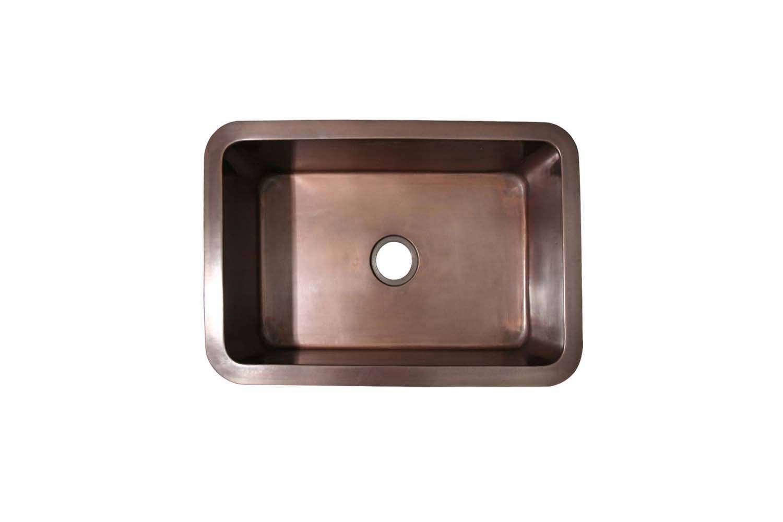 The Whitehaus Copperhaus 30-Inch Undermount Kitchen Sink is $loading=