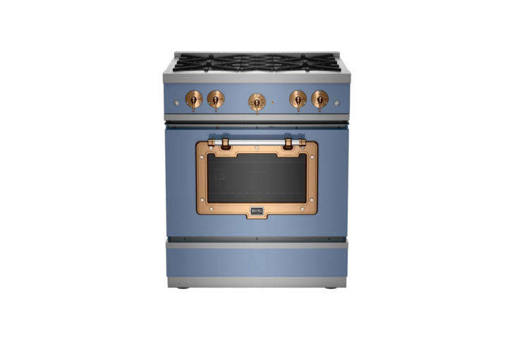 big chill makes a french looking 30 inch classic stove (shown) with custom colo 13