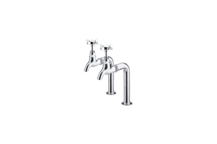 10 Easy Pieces Traditional English Kitchen Taps The Bristan \190\1 Bib Taps are priced affordably at £53.\2\2 from QS Supplies.