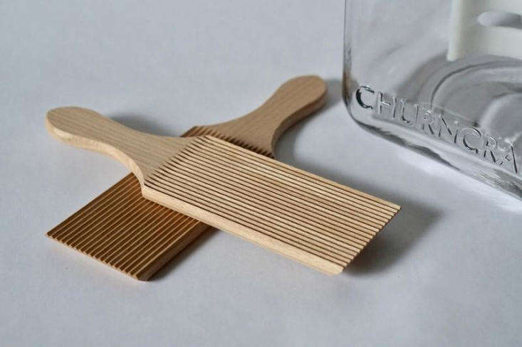 A set of two Butter Paddles is $; butter paddles are used for extracting the last bits of moisture from your newly churned butter.