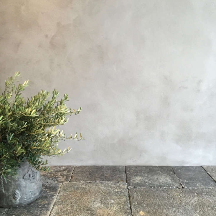 when applying lime plaster or wash, embrace imperfection—and wield tools di 14