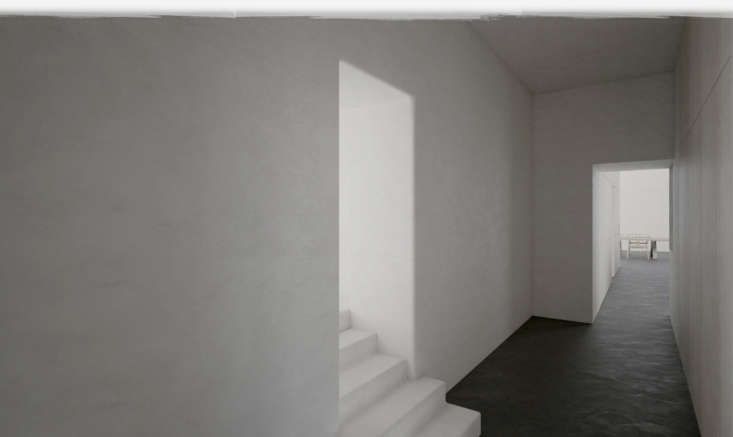 another place plaster can be used? in architectural details—including stair 9