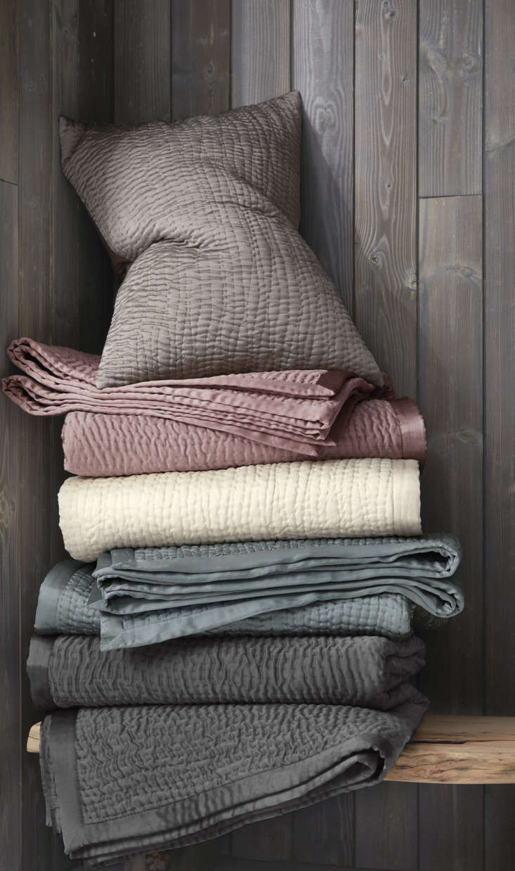 sand washed silk is hand stitched to create the unique texture of eileen fisher 15