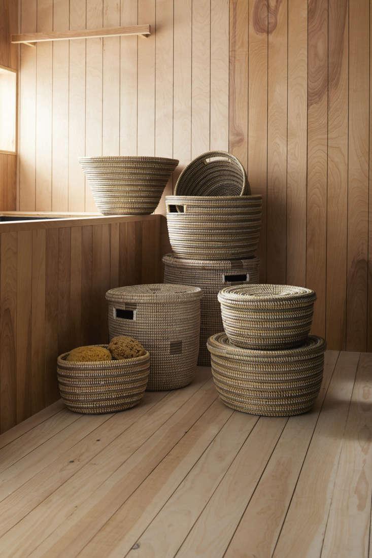 garnet hill eileen fisher storage baskets