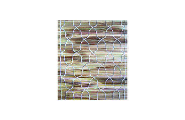 the curved 3 gilas design chik blinds pattern. 14
