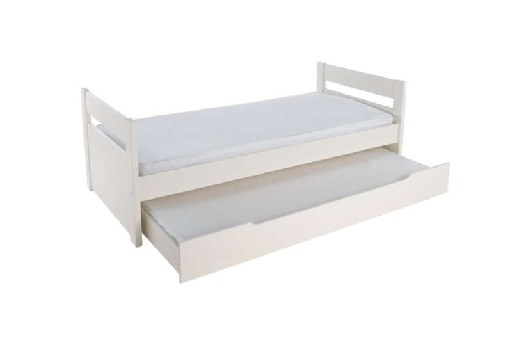 the habitat pongo white single trundle bed is the eu option among our \10. it&a 16