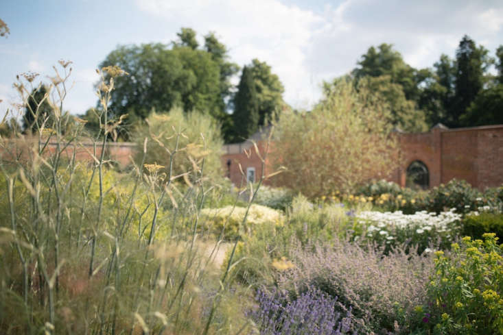 Admiring the gardens at newly opened English country house hotel Heckfield Place; take the tour on Gardenista.