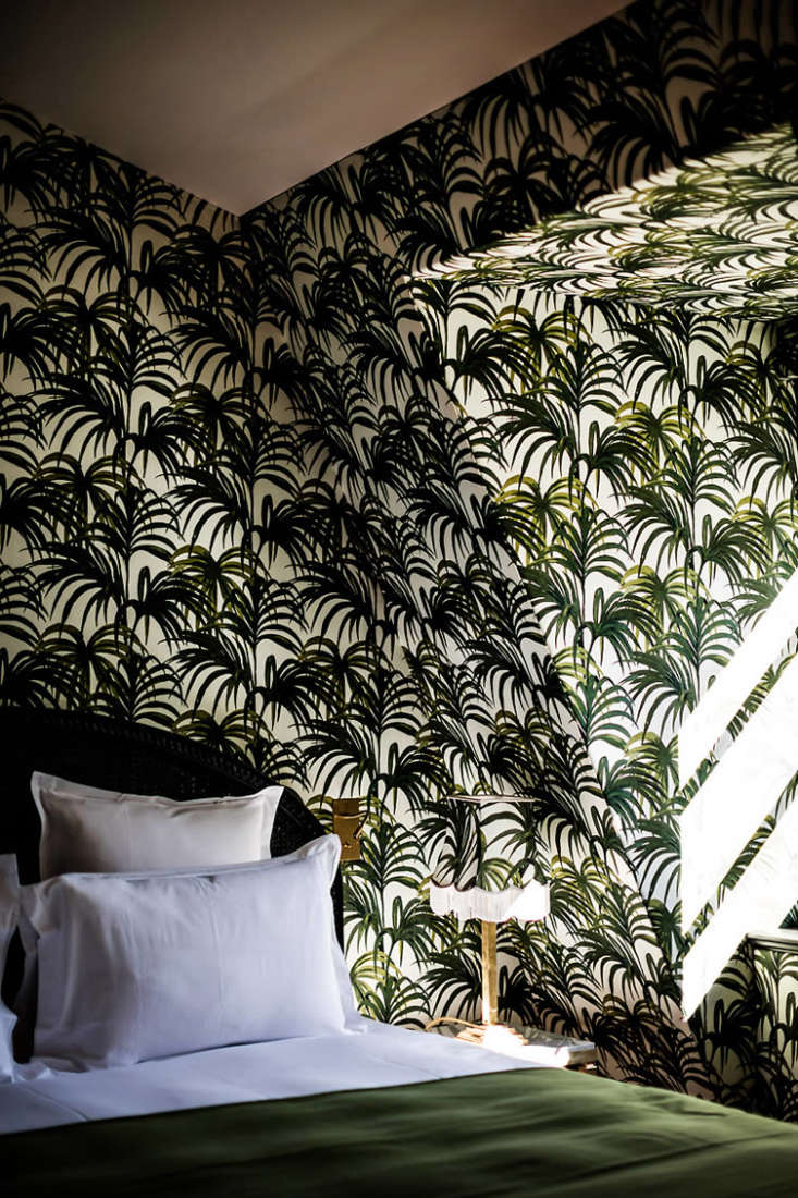 urbane tropicana at the hôtel providence in paris, where the attic suite is pa 9