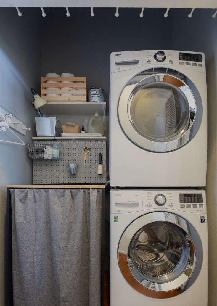 laundry closet transformation 1