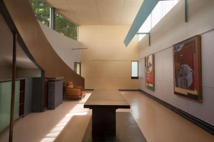 12 Design Lessons from Le Corbusiers Maison La Roche in Paris The art gallery at Maison La Roche.