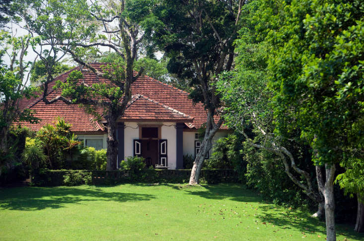 located two hours south of colombo, the capital, where bawa lived during the we 9