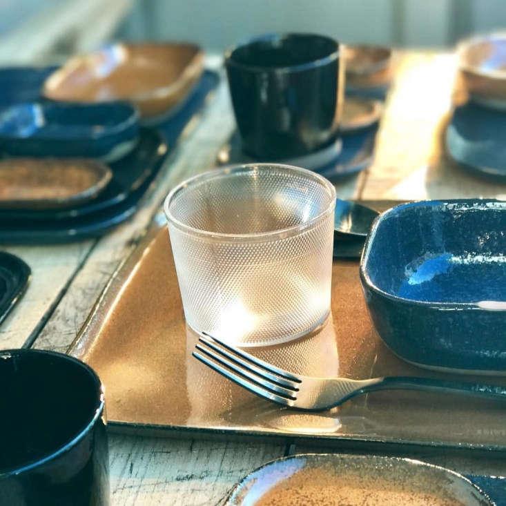 nouvelle table glassware
