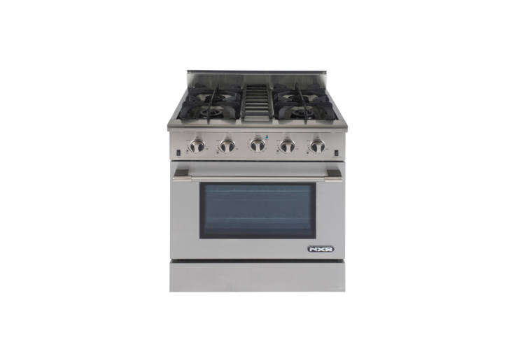 Steal This Look A SemiCustom Kitchen in Brooklyns Sunset Park The range is the NXR 30 Inch Professional Style Gas Range. Contact NXR for local dealers.
