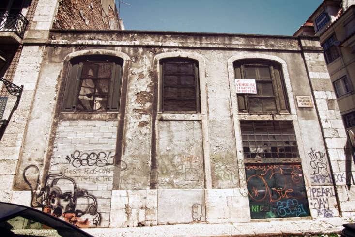 The factory had been abandoned for  years and was covered in graffiti.