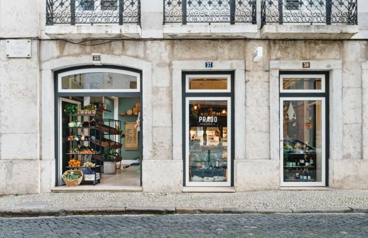 Prado Mercearia, just around the corner, is modeled after an old-fashioned Portuguese grocery.