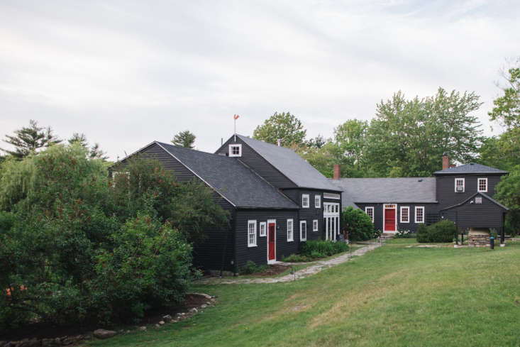 The inn is a long, connected farmstead, built in 63 and added onto over the years.