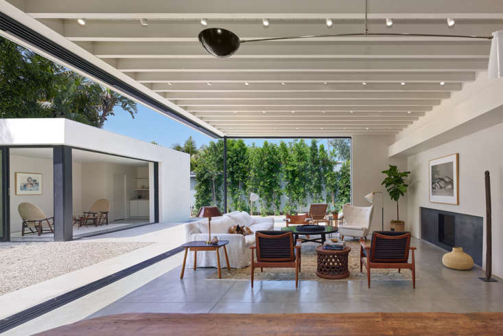 this is la living. &#8\2\20;the house was conceived around the idea of crea 12