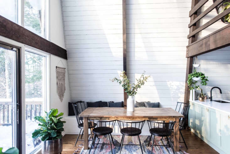 Best Amateur Living/Dining: The Hunter Greenhouse in the Catskills.