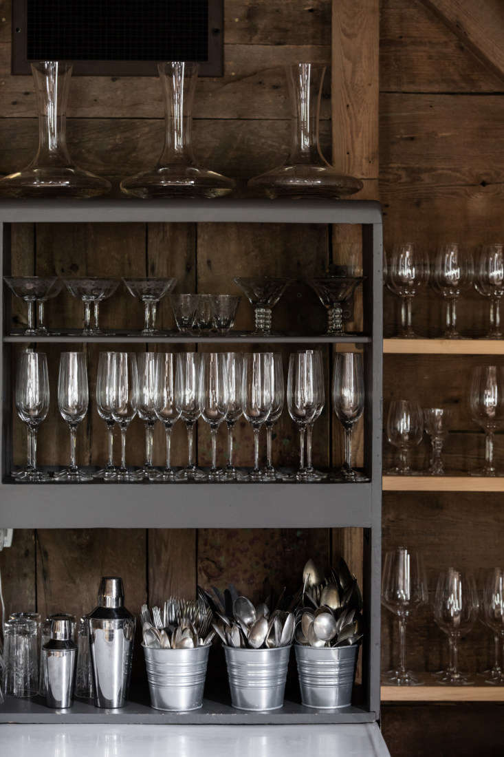 With stacks of glassware and mix-and-match china, there&#8