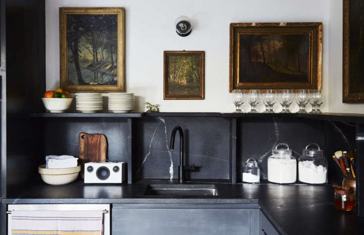 pflug replaced the existing wooden counters with alberene soapstonefrom polyc 12