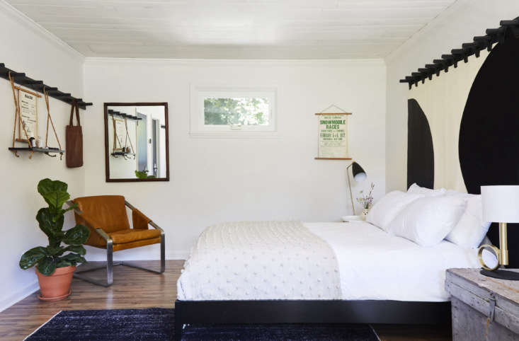 the custom bed curtains are the work of brooklyn leather studio moses nadel; th 14