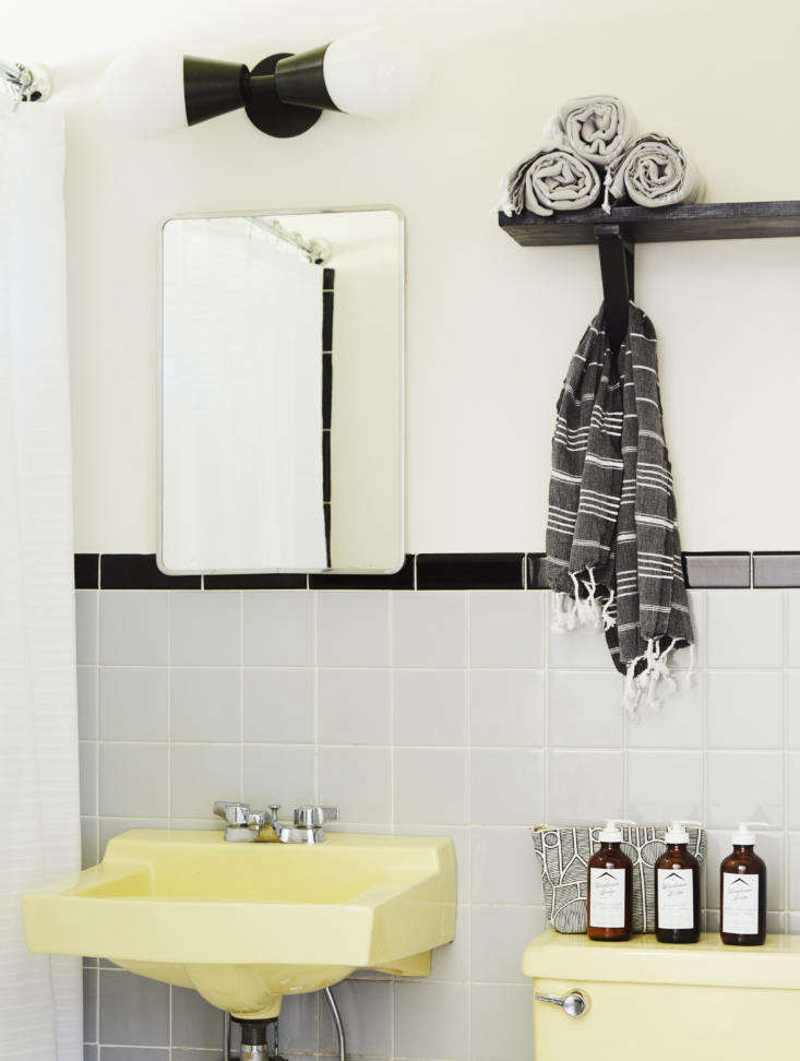 the bathrooms have their original \196\2 fixtures newly restored. the toiletrie 16