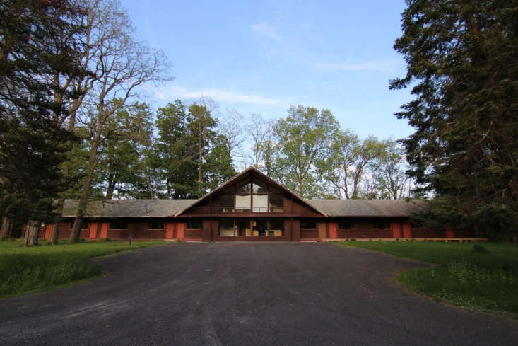 the lodge was built on the grounds of what was a large, family owned resort tha 19