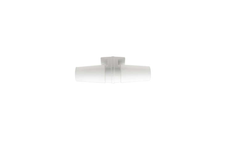 For a fixture similar to the brown ceramic double sconce over the bathroom mirror, Zangra makes the retro-looking White Porcelain Fixture for €86. It&#8