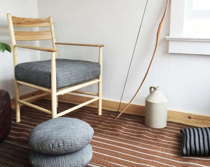 the windham armchair, with cushions by handa. 12