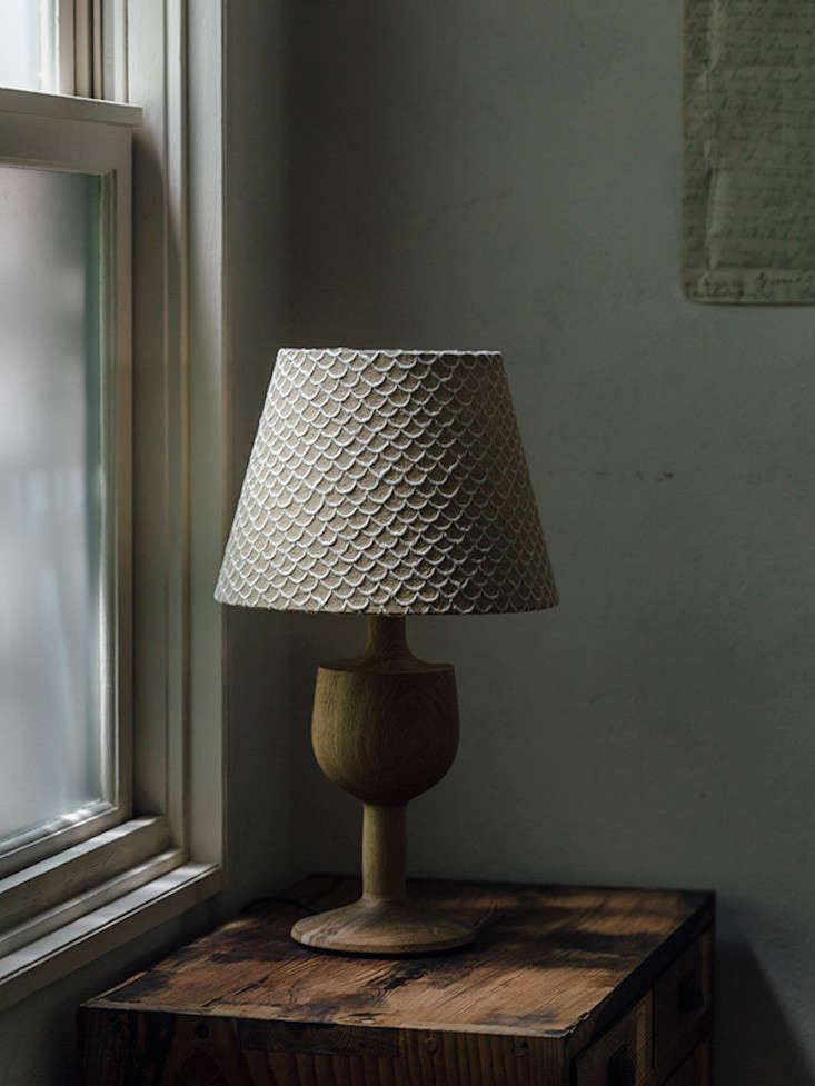 The Biscuit Lamp, ¥48,000, is part of a collection of designs from Flame of Japan&#8