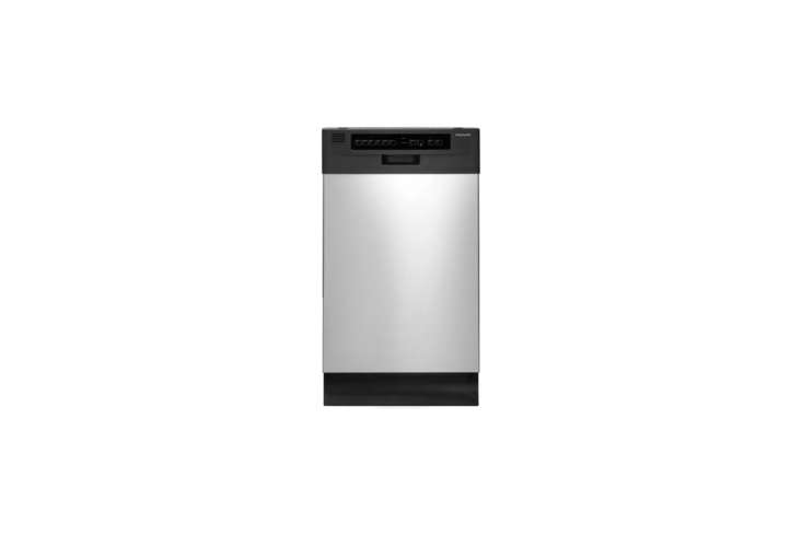 The Frigidaire -Inch Full Console Dishwasher in stainless steel is $7. at AJ Madison.