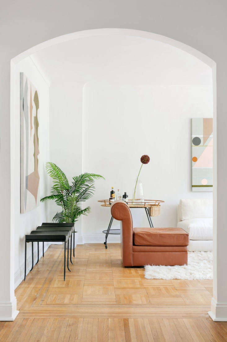 Silhouettes and air space at 40 Prospect Park West, a newly updated 4